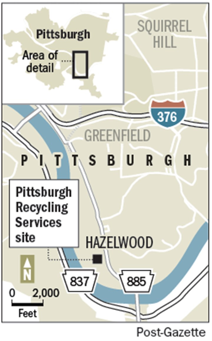 Pittsburgh Recycling Services site