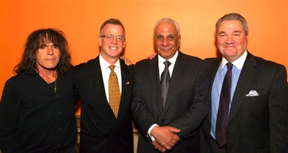 Roxanne Betters Albanese Foundation Rick Granati, Larry Richert, Chuck Betters and Michael Young.