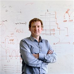 Carl Kingsford of CMU Carl Kingsford, associate professor in the Lane Center for Computational Biology -- part of Carnegie Mellon University's School of Computer Science -- has developed an algorithm to identify RNA for health research that works in 10 to 15 minutes rather than 10 to 15 hours.