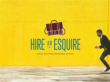 Hire an Esquire logo