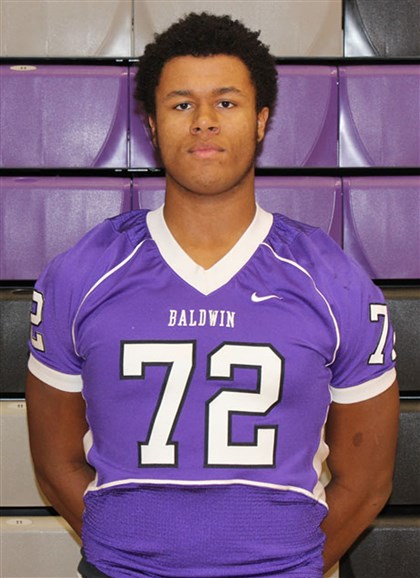 jenkins0507 Baldwin offensive lineman Sterling Jenkins committed to Penn State Tuesday.