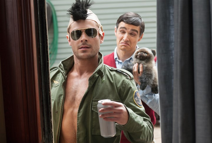 20140509Neighbors2-1 Teddy Sanders (Zac Efron) is a fraternity president who loves to torment his neighbors, a young couple with a new baby.