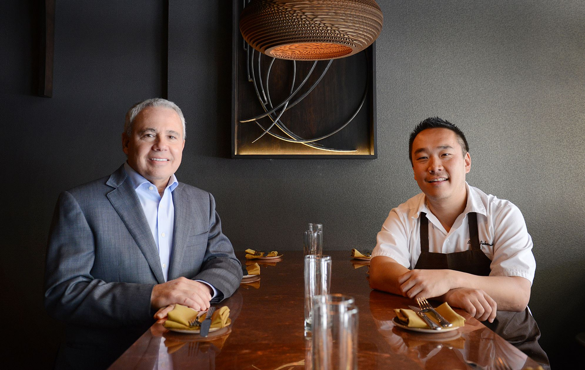 20140506jrGritGraceFood1 Rick Stern (left) and Brian Pekarcik at their new Downtown restaurant Grit & Grace.