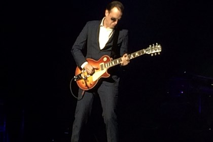 2014JoeBonamassa0507Mervis Joe Bonamassa performs at the Benedum Center, Downtown, Tuesday night.