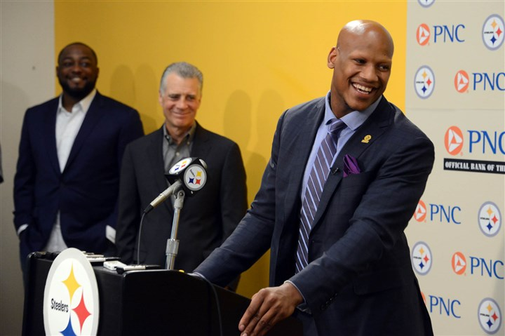 Ryan Shazier Ryan Shazier, the Steelers first-round draft pick, speaks at a press conference alongside coach Mike Tomlin and president Art Rooney II at the Steelers' South Side facility on Friday, May 9, 2014.