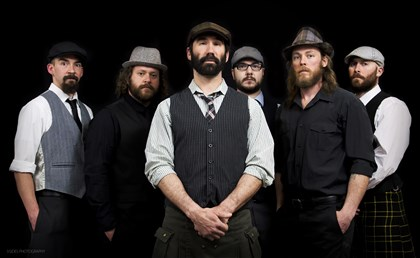 20140515BastardBeardedIrishmen Bastard Bearded Irishmen: From left, Paul Dvorchak, Danny Rectenwald, Jimmy Bastard, Ben Jaber, Jon Pitcher, Dan Stocker. (Jimmy Bastard or Jimmy Smerecky)
