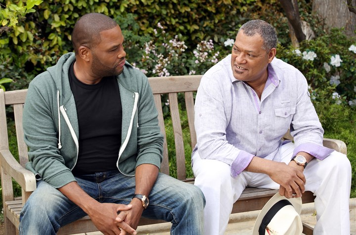 "20140513hoabc0514Amag HOW TO GET AWAY WITH MURDER - ""Black-ish"" stars Anthony Anderson and Laurence Fishburne."