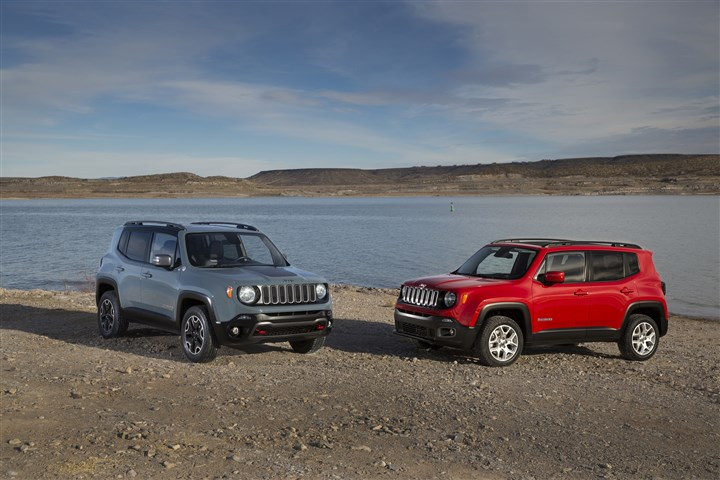 2015 Jeep Renegade 2015 Jeep Renegade Trailhawk and Latitude Models