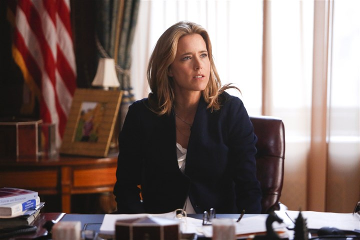 "MADAM SECRETARY Tea Leoni stars as Elizabeth McCord, the shrewd, determined, newly appointed Secretary of State in ""Madame Secretary."""