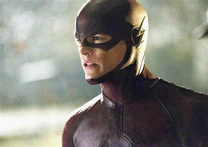 "20140515hoflashmag ""The Flash"" stars Grant Gustin."