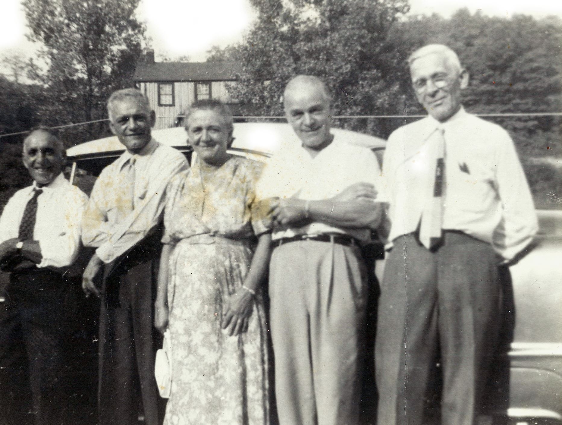 ArleneBurnettFam2 In this family photo from Arlene Burnett, her grandfather Nicholas Carrola is on the far right.