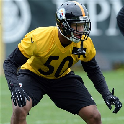 Ryan Shazier The Steelers rookie first round draft pick Ryan Shazier works out during rookie mini-camp at the team's facility on the South Side in May.