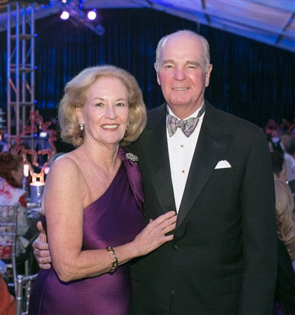 20140519jcWarhol1 Ann and Marty McGuinn pledged $500,000 to the museum.