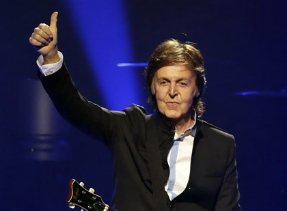 9m900l4s Paul McCartney will take the stage July 7 at Consol Energy Center.