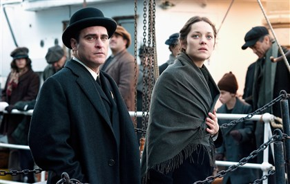 "20140523TheImmigrant1 Joaquin Phoenix and Marion Cotillard star in ""The Immigrant."""