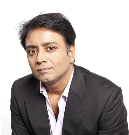 "Author Zia Haider Rahman Zia Haider Rahman, author of ""In the Light of What We Know."""