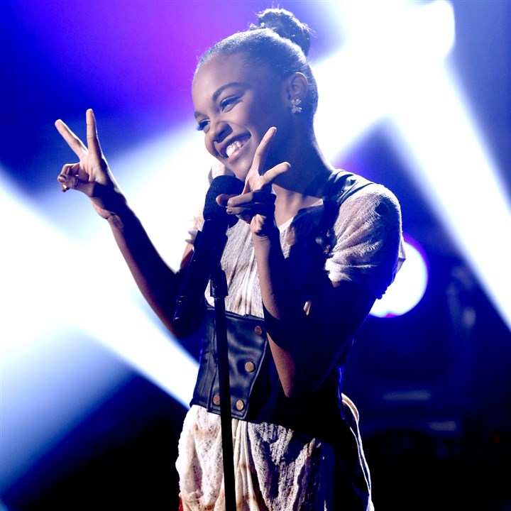 "20140520hotvSingfacemag-1 China Anne McClain, star of the Disney Channel's ""How to Build a Better Boy,"" will be one of five celebrities transformed and trained to perform as legendary musical icons on ""Sing Your Face Off,"" debuting on ABC at 8 p.m. Saturday."