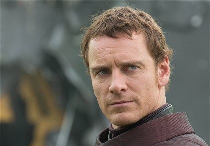 "X-Men Michael Fassbender plays Erik Lehnsherr in ""X-Men: Days of Future Past."""