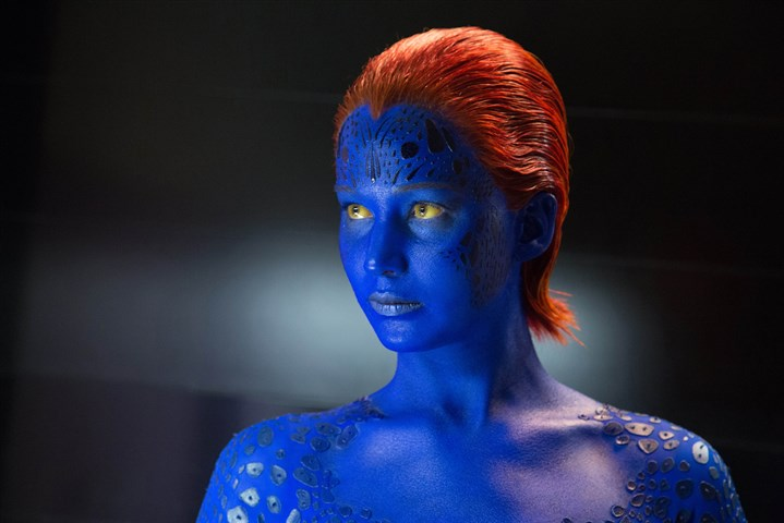 "X-Men  Jennifer Lawrence in ""X-Men: Days of Future Past."""