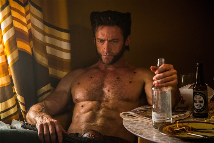 "X-Men Hugh Jackman as Logan in ""X-Men: Days of Future Past."""