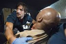 "The ratings for ""The Night Shift,"" starring Eoin Macken as Dr. T.C. Callahan, are down, but the show hasn't been canceled yet."