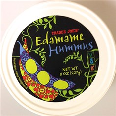 Trader Joe's Edamame Hummus Photo courtesy of the FDA Trader Joe's edamame hummus. It is part of the voluntary recall.