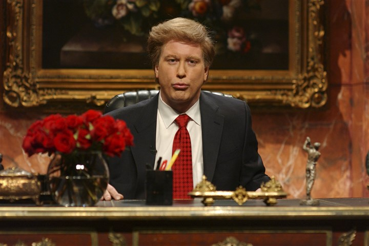 "Darrell Hammond as Donald Trump Among Darrell Hammond's many impersonations on ""Saturday Night Live"" was Donald Trump."