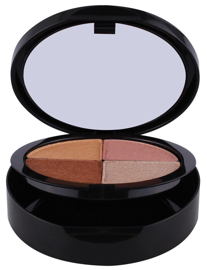 Quattro bronzer/blush compact Quattro bronzer/blush compact by Charity by Dawn Lilly cosmetics.