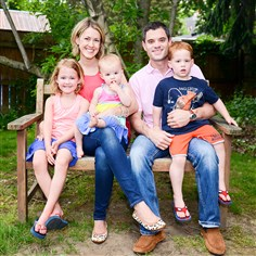 Ryan and Krista Miller and their children Ryan and Krista Miller and their children Elisabeth, 5, Marina, 1, and Landon, 3, moved to Sewickley from Washington, D.C., in April 2013.