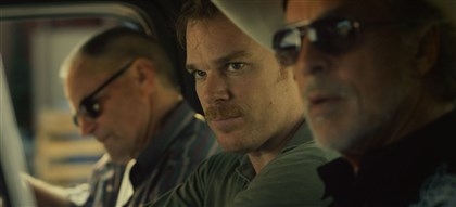 "20140529ColdinJuly2 Sam Shepard, Michael C. Hall and Don Johnson star in ""Cold in July."""