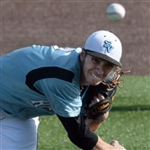 Seneca Valley's Connor Coward pitches against Baldwin in the WPIAL Class AAAA championship last week.