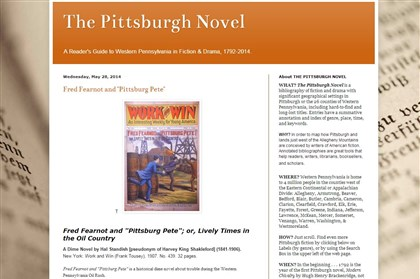 The Pittsburgh Novel Project