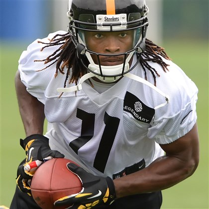 Steelers WR Markus Wheaton Steelers WR Markus Wheaton during an OTA session this week on the South Side.