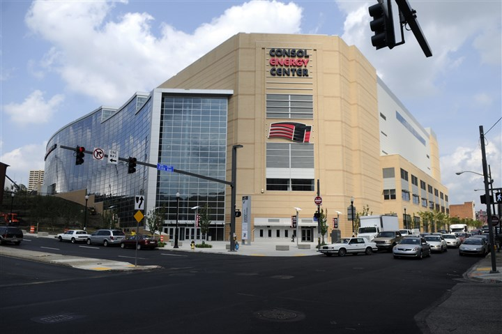 ConsolCenter2-1 The Consol Energy Center will play host to another Penguins season starting Oct. 9.