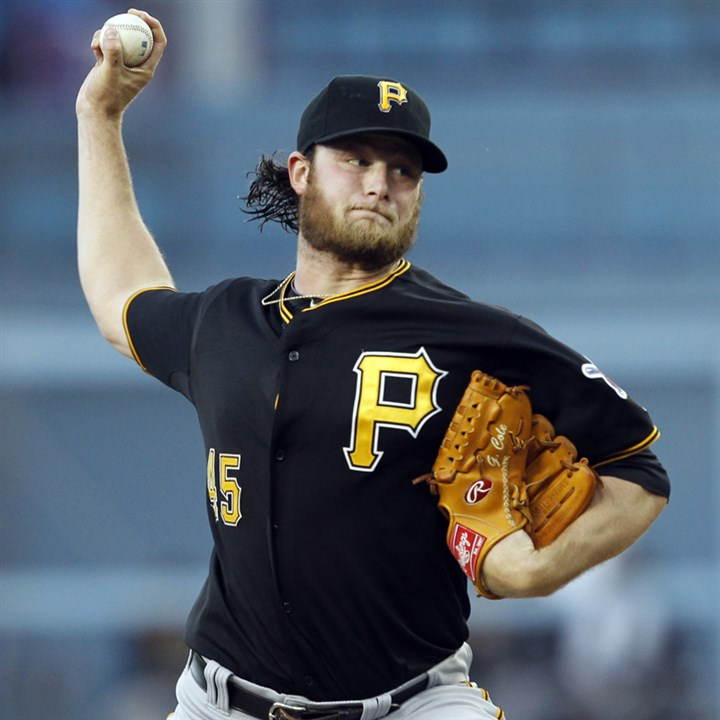 cole0608b Pirates starter Gerrit Cole will not make his scheduled start Monday.