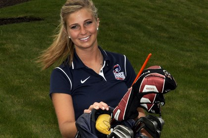 "Golfer Amanda Reach Golfer Amanda Reach had not one but two programs cut out from under her in a two-year span. ""It's one of the hardest things I've ever had to do in my life,"" she said."