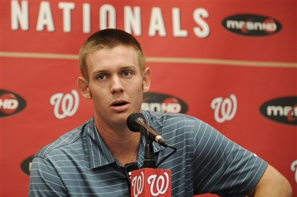 Stephen Strasburg  Stephen Strasburg brought a 100-mph arm to the major leagues in June 2010. By August, he was discussing the prospects of having to face elbow surgery.
