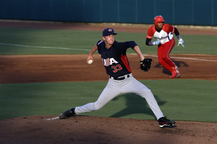 UNLV pitcher Erick Fedde UNLV pitcher Erick Fedde, who has also pitched for Team USA in international competition, was a lock to be taken in the top 10 of this week's draft. Tommy John surgery last month throws that projection into question.