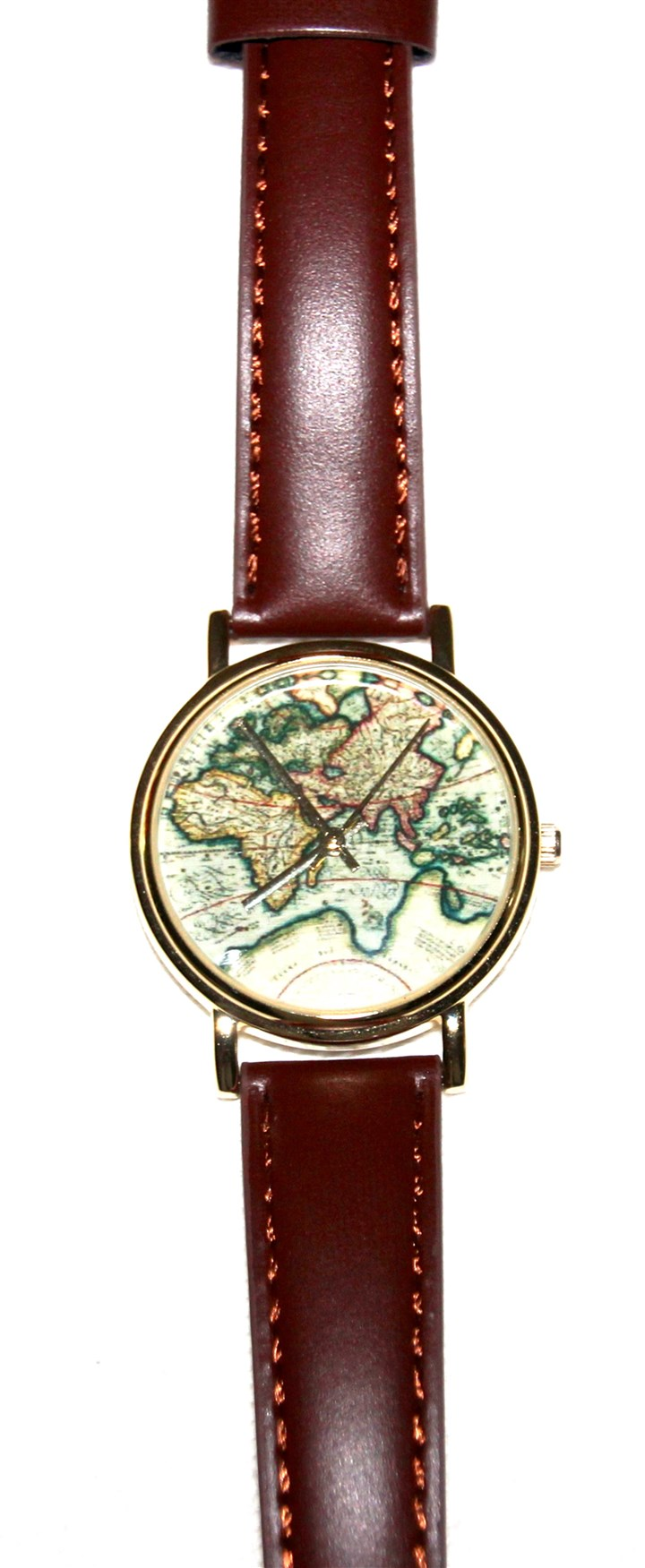 Watch Urban Outfitters' Around the World leather watch retails for $34.