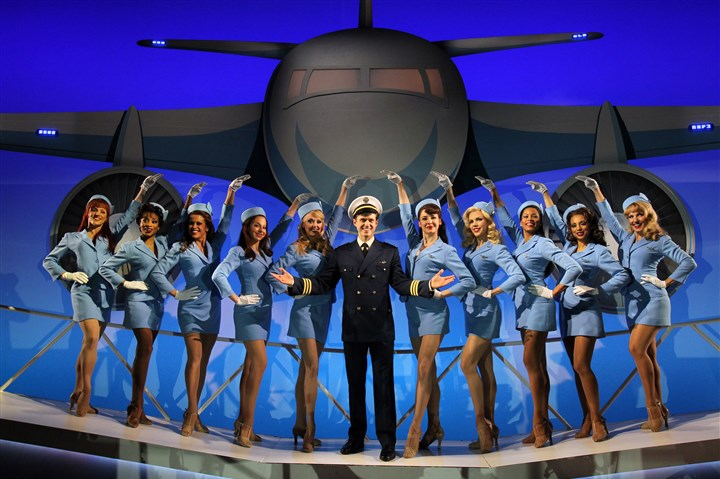 """Catch Me If You Can"" (2011), star­ring Aaron Tveit ""Catch Me If You Can"" (2011), star­ring Aaron Tveit."