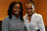 "May Lebo, left, and Lavender Wachira met at Point Park University and they founded MayLav Elite Cleaning. In Kenya, ""whatever you went to school for is what you work in,"" Ms. Lebo says. ""You cannot be anything else. But here, you can be anything."""