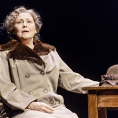 "Cherry Jones as Amanda Wingfield Cherry Jones as Amanda Wingfield in ""The Glass Menagerie."""