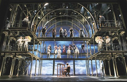 "The cast of ""Ragtime"" The cast of ""Ragtime"" (1998) with a Tony-winning musical score by Stephen Flaherty and Lynn Ehrens."
