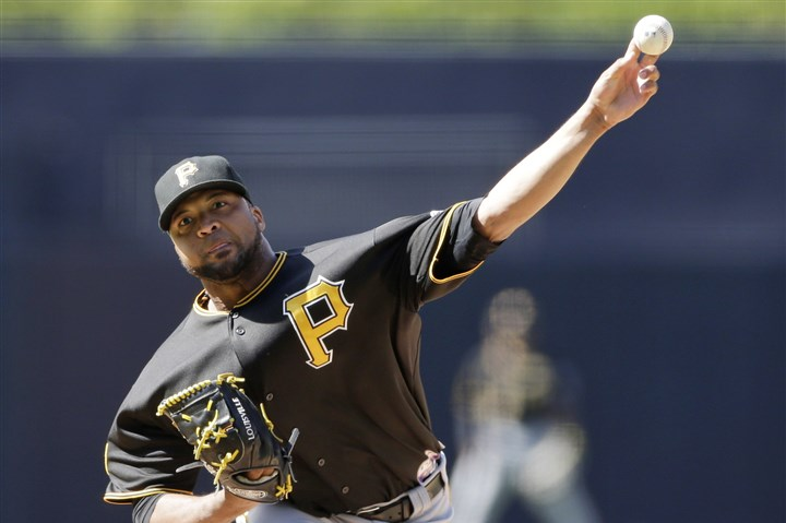 Liriano0704 Pirates starting pitcher Francisco Liriano could be back in the rotation in the coming days. He has been out since June 10 with a strained oblique.