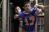 "Jonah Hill, left, and Channing Tatum in ""22 Jump Street."""