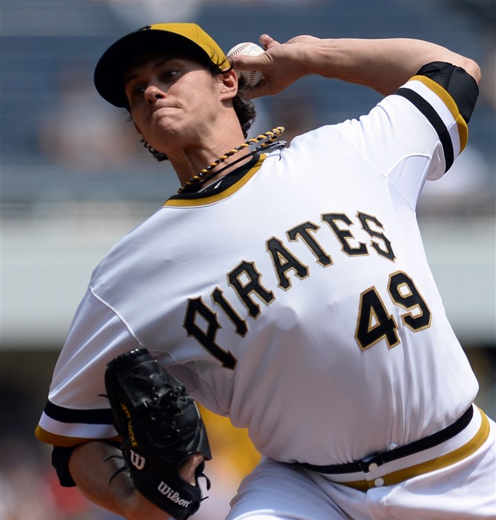 Jeff Locke Jeff Locke, seen here in a file photo, surrendered six earned runs in Saturday's loss to the Rockies in Denver.