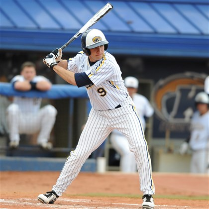 20140605hoZalewskiZSpts (2).jpg Valley High School graduate Zarley Zalewski swung a hot bat for Kent State this season, batting .351 with 42 RBIs as the Golden Flashes qualified for the NCAA tournament.