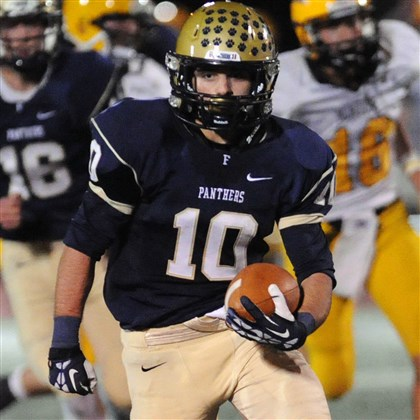 9k000kti.jpg Franklin Regional's Colin Jonov will play defensive back for Pennsylvania in the Big 33 Classic.