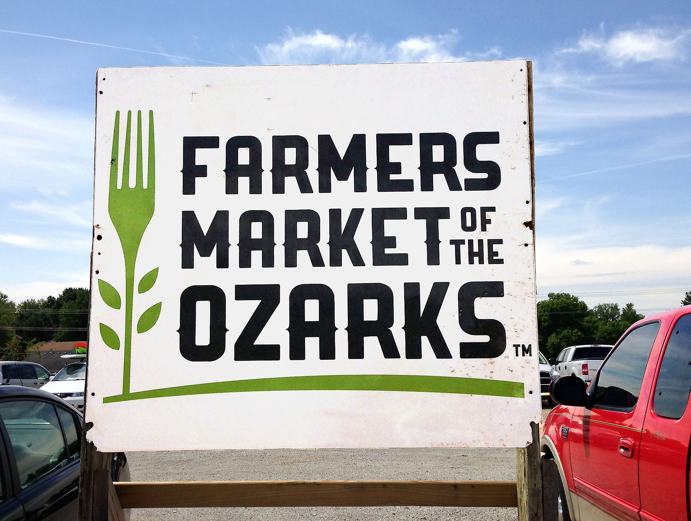 MarketSign Farmers Market of the Ozarks, Springfield, Missouri.