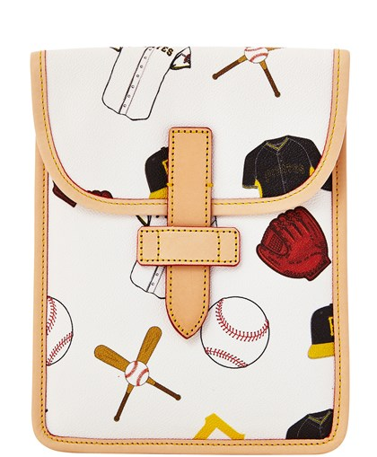 20140616hostylebook0616mag-1 Pirates mini iPad case from Dooney & Bourke's Major League Baseball Collection, $88 at www.dooney.com.
